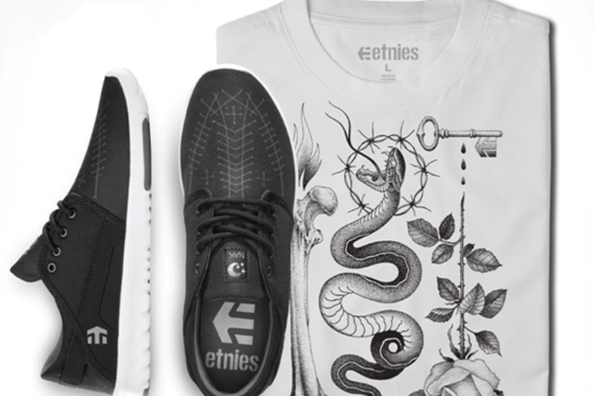 VIDEO: etnies Releases Tattoo Inspired Talent Scout by Kostechko