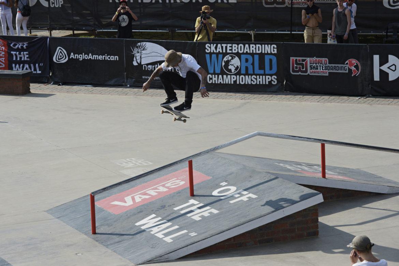 Jimmy Wilkins Defends Title to Win Vert Skateboarding World Championships