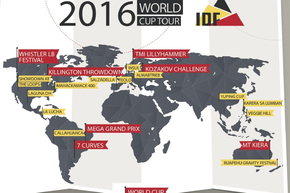IDF Announces 2016 World Tour Schedule
