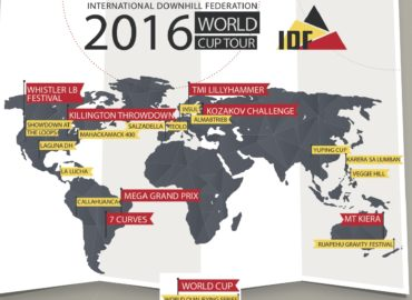 IDF Announces 2016 World Tour Schedule