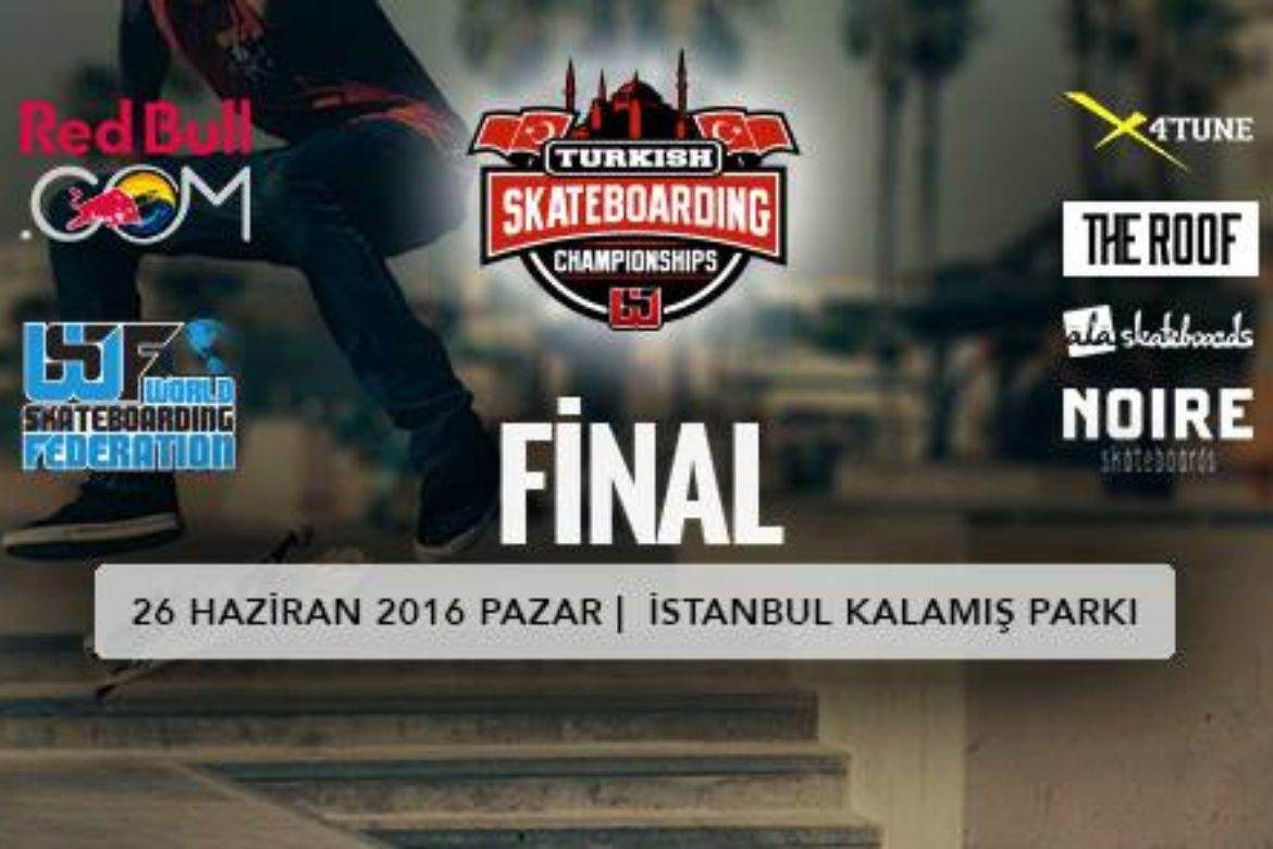 Turkish Skateboarding Championship returns to Istanbul, June 26