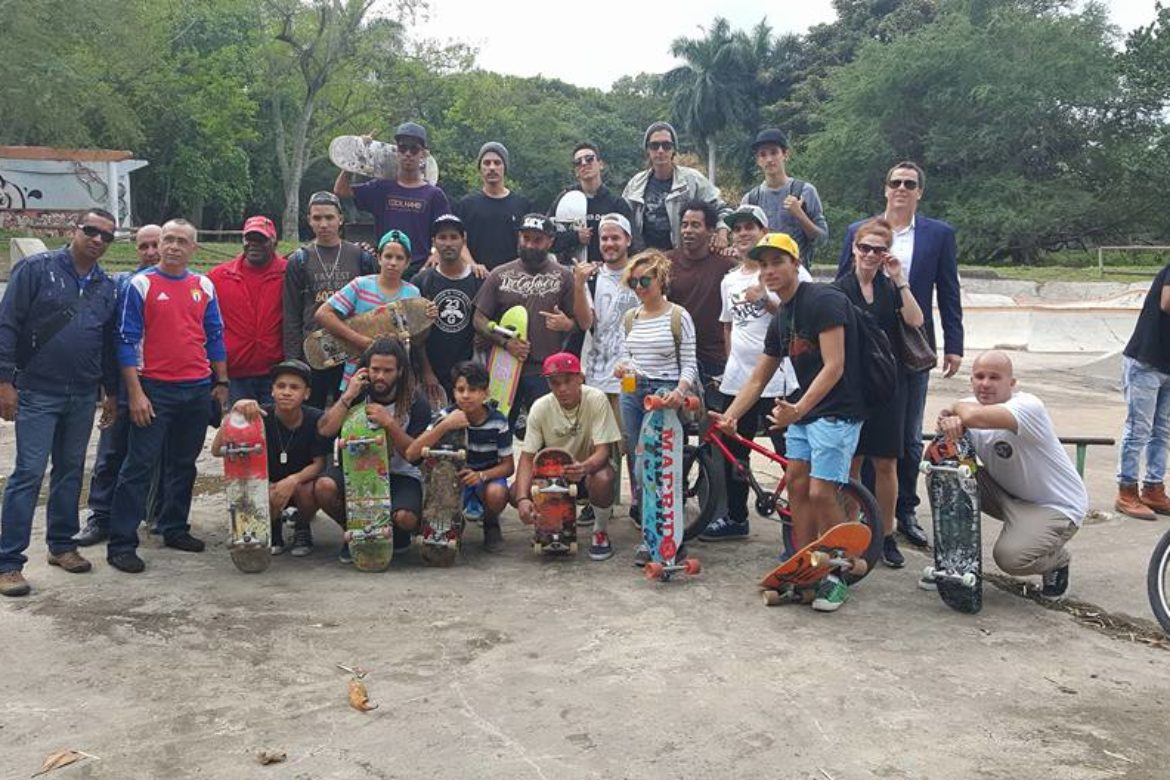 WSF Leading Skateboarding Development in Cuba