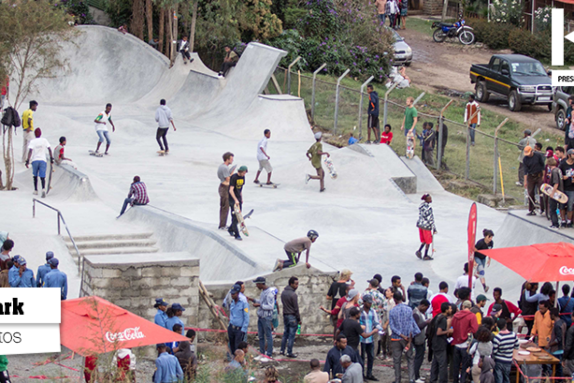 Ethiopia's First Skatepark is Open!