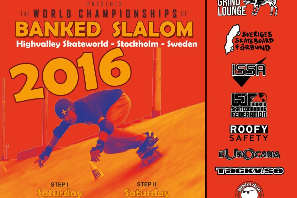 First World Championships for Skateboard Banked Slalom