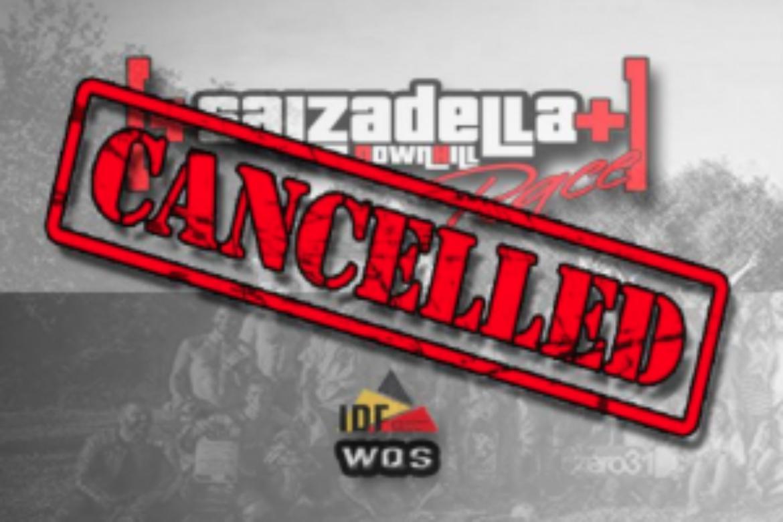 Salzadella is cancelled!