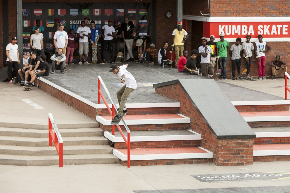 Kimberley 08/10/2015. Kimberley Diamond Cup skateboarding contest held in Kimberley, South Africa. Photo Sam Clark, clarkst@gmail.com